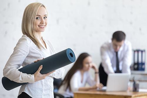 Hormonální jóga pro firmy