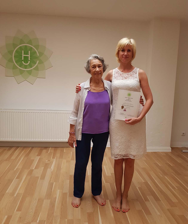 Anna Preclíková, certifikovaná lektorka hormonální jógy